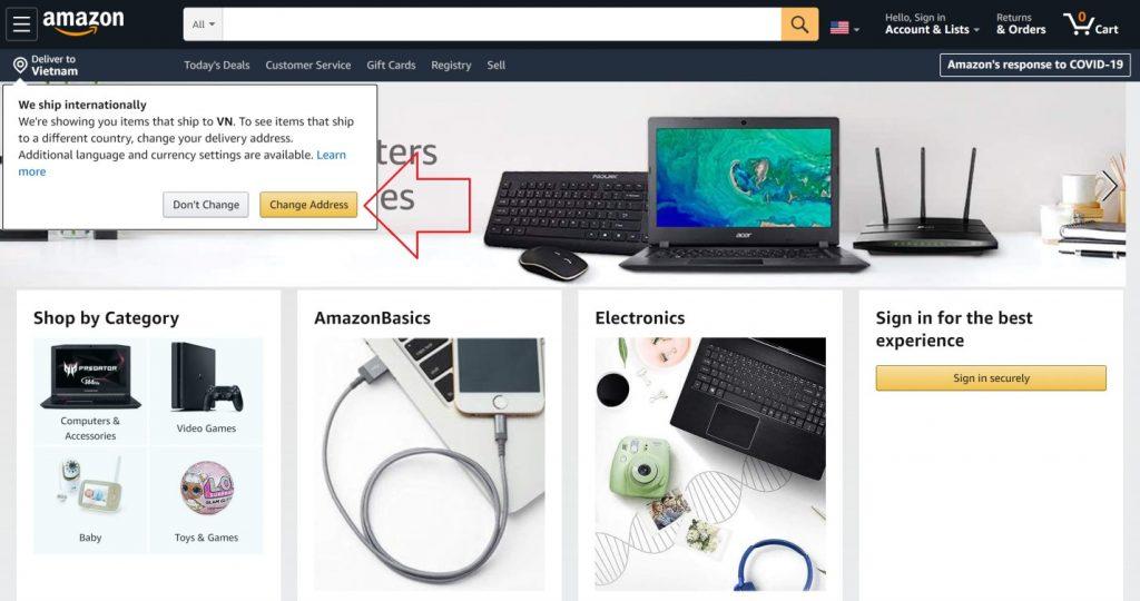 Huong dan mua hang tren Amazon